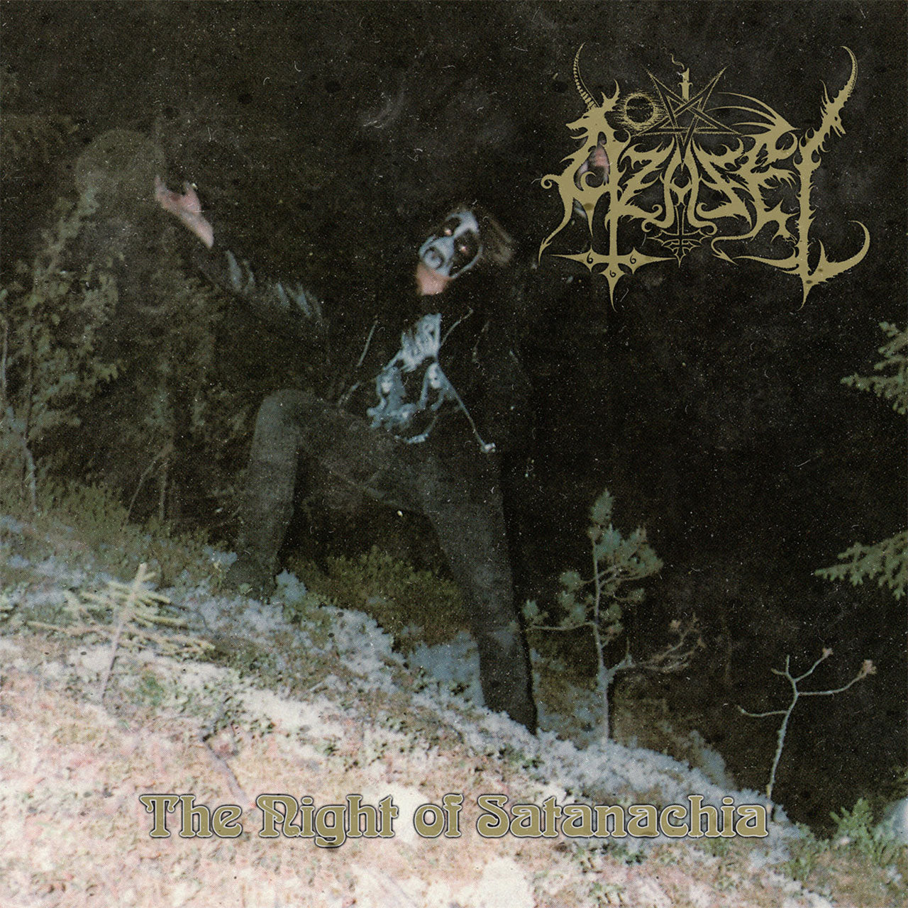 Azazel - The Night of Satanachia (2020 Reissue) (Digipak CD)