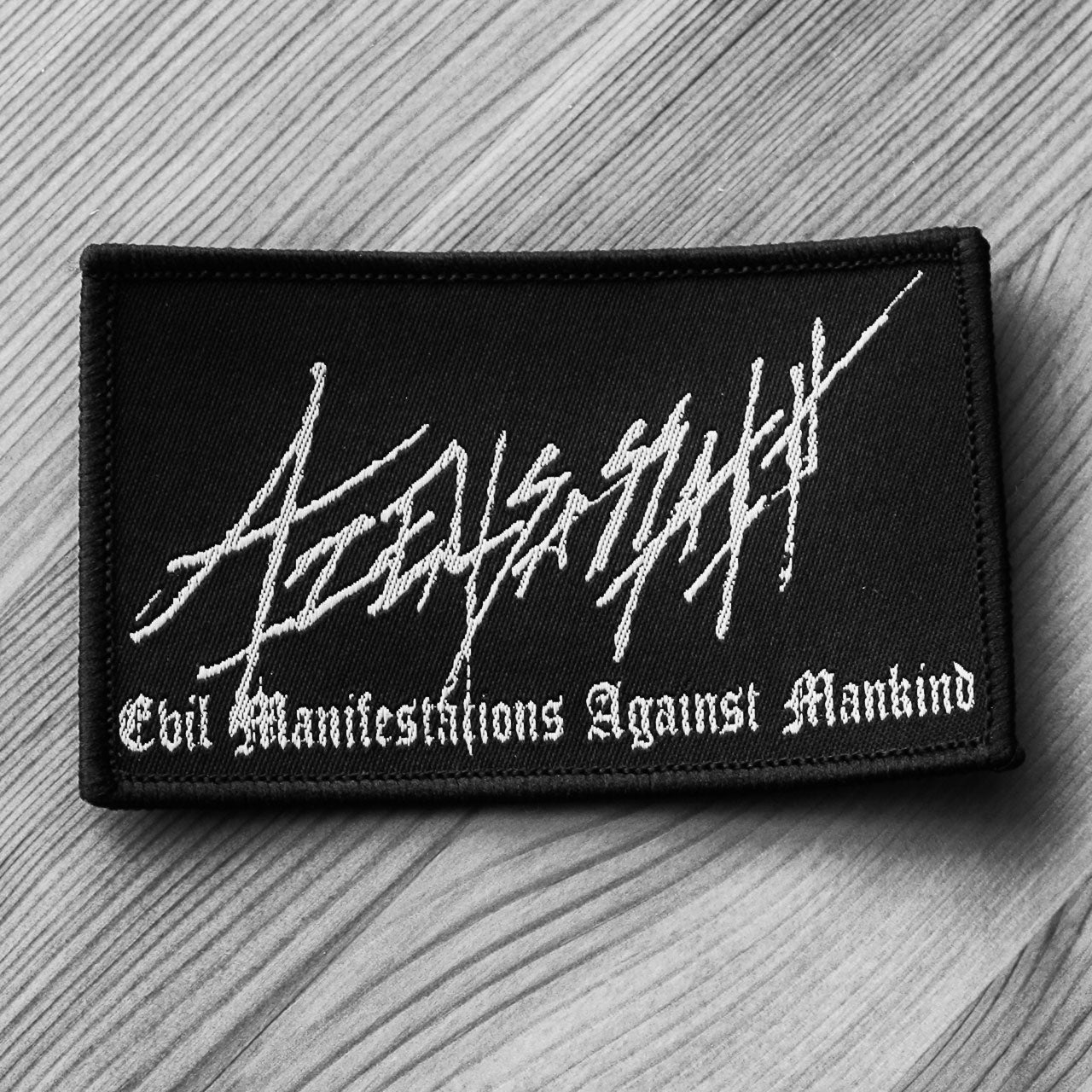 Azelisassath - Logo / Evil Manifestations Against Mankind (Woven Patch)