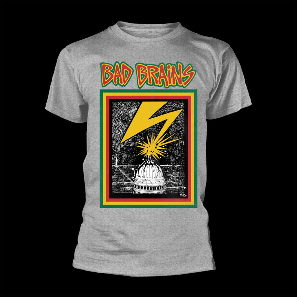 Bad Brains - Bad Brains (Grey) (T-Shirt)