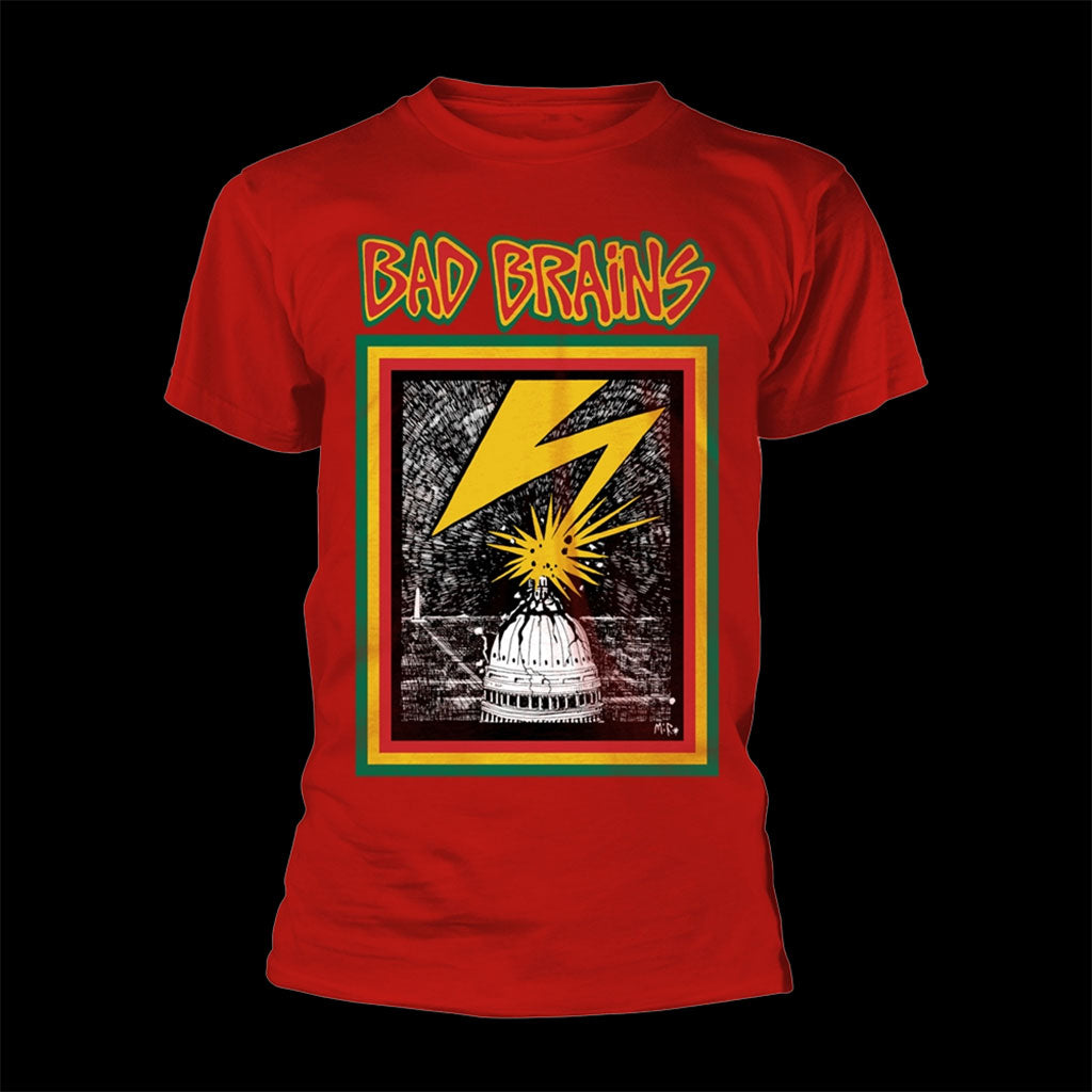 Bad Brains - Bad Brains (Red) (T-Shirt)