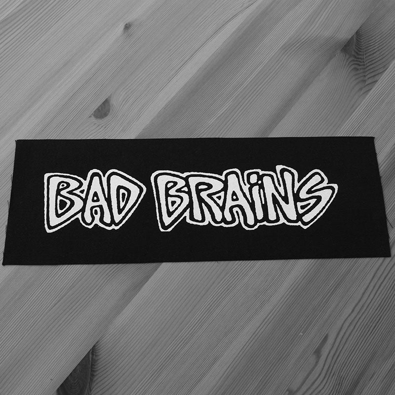 Bad Brains - White Logo (Superstrip) (Backpatch)