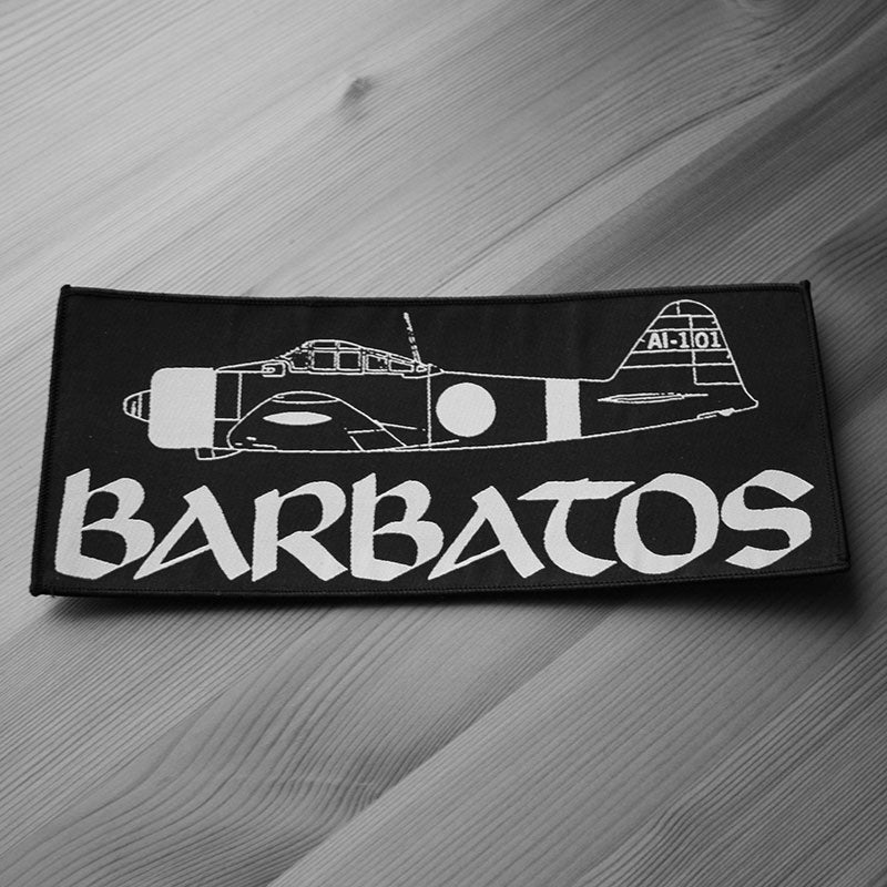 Barbatos - Logo (Superstrip) (Backpatch)