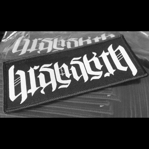 Barshasketh - White Logo (Woven Patch)