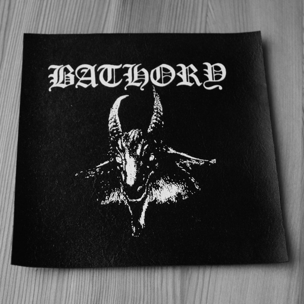 Bathory - Bathory (Leather) (Printed Patch)
