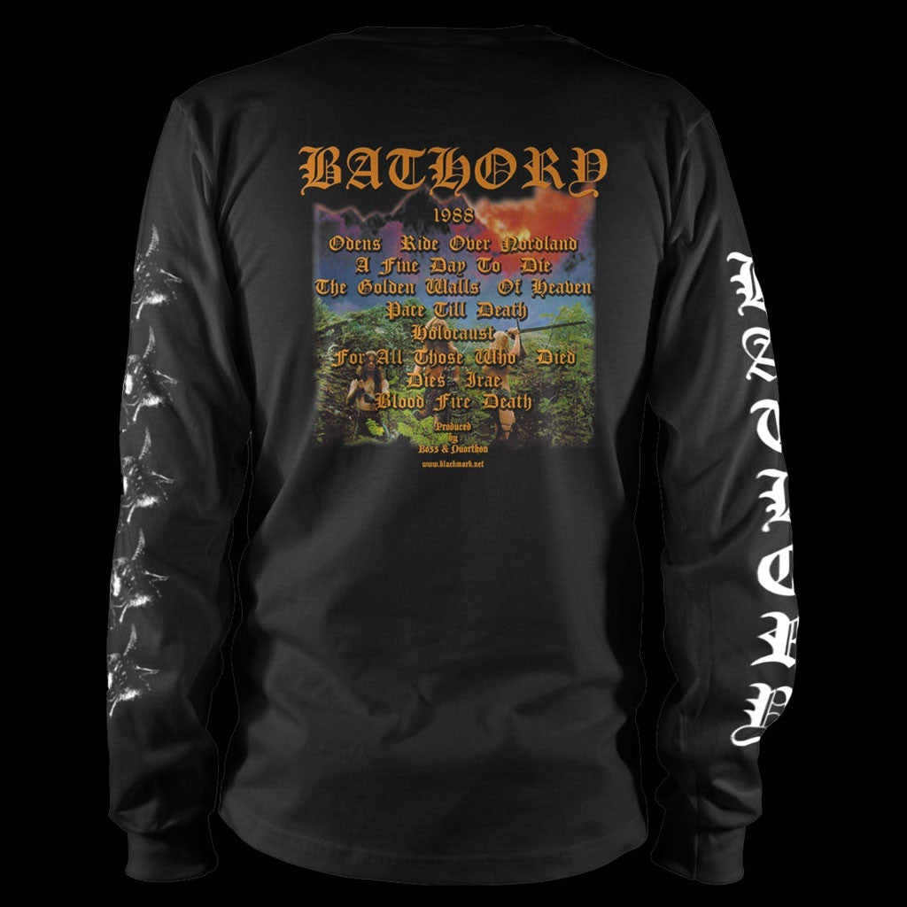 Bathory - Blood Fire Death (Long Sleeve T-Shirt)