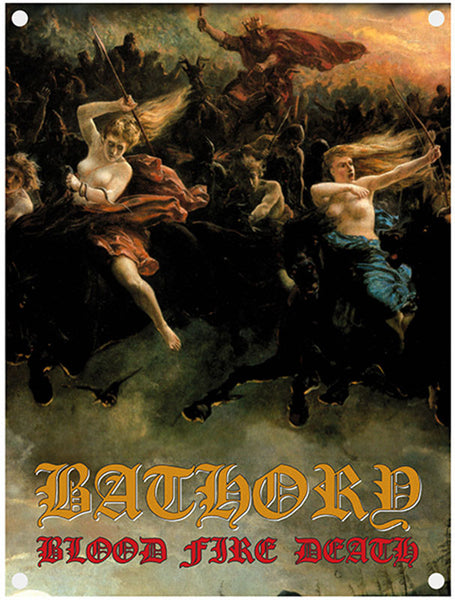 Bathory - Blood Fire Death (Textile Flag)