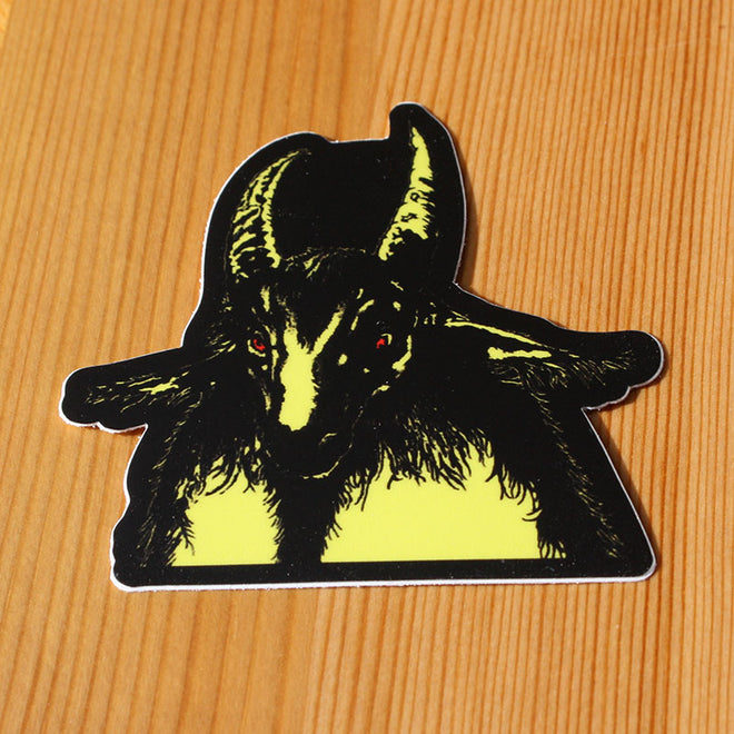 Bathory - Yellow Goat (Sticker)