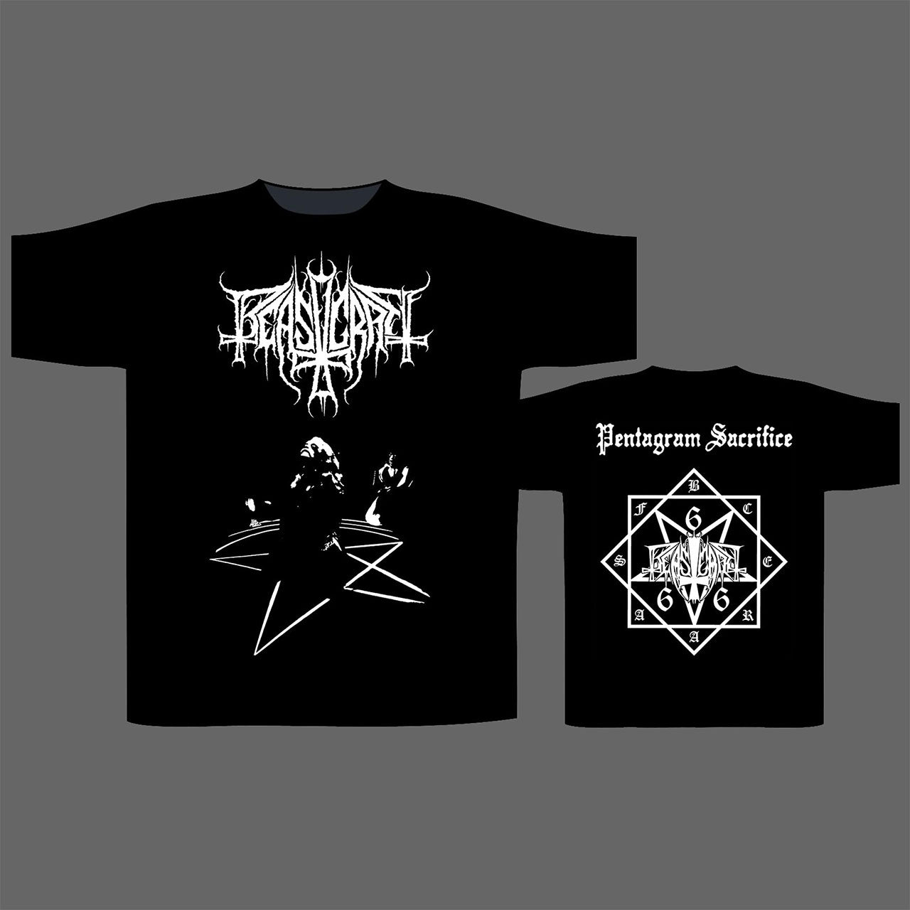 Beastcraft - Pentagram Sacrifice (T-Shirt)