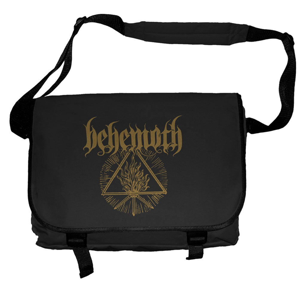 Behemoth - Gold Logo & Unholy Trinity (Messenger Bag)