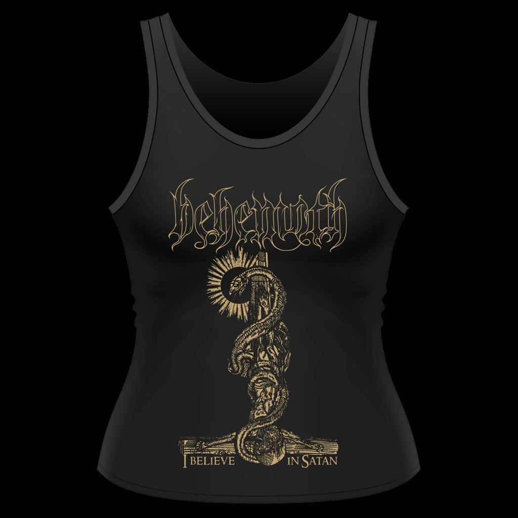 Behemoth - I Believe in Satan (Women's Tank Vest)