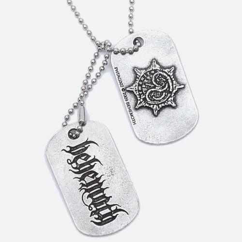 Behemoth - Logo / New Aeon Musick (Dog Tags)