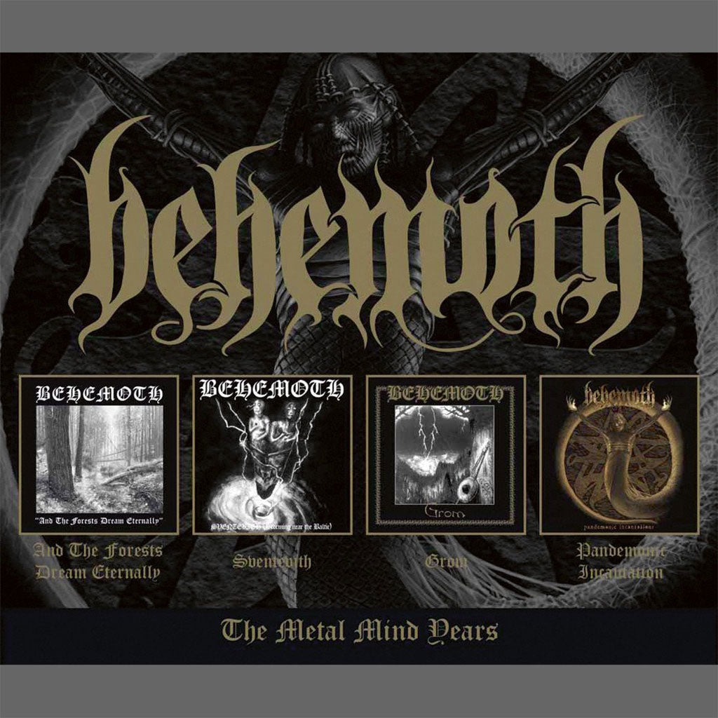 Behemoth - The Metal Mind Years (4CD)