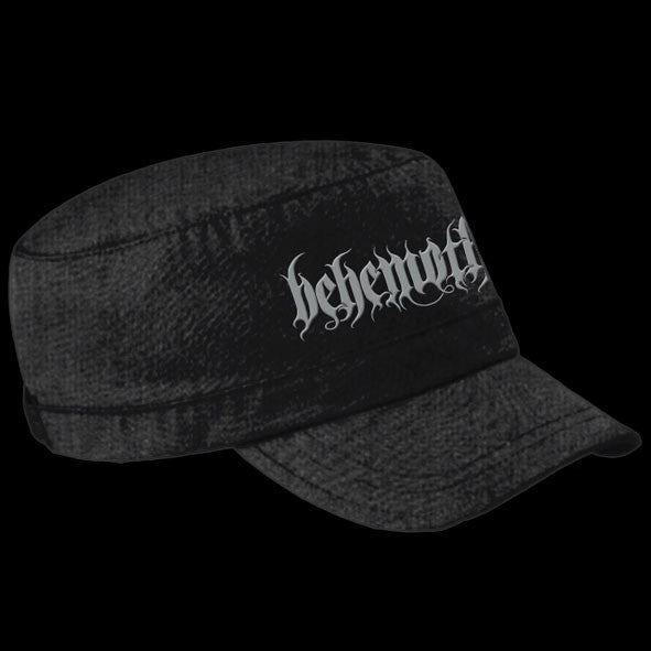 Behemoth - White Logo (Military) (Cap)