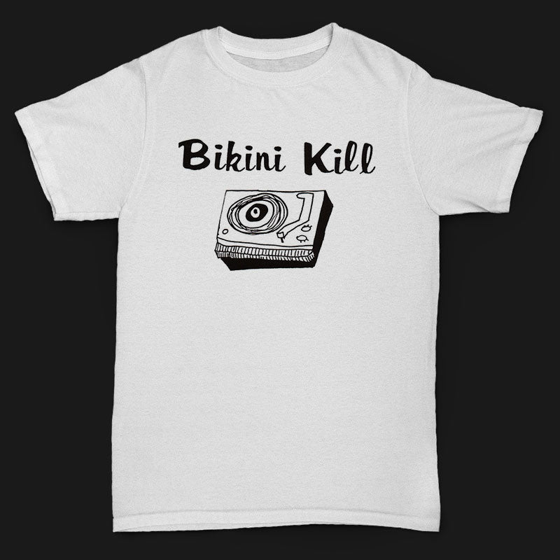 Bikini Kill - Logo / The Singles (T-Shirt)