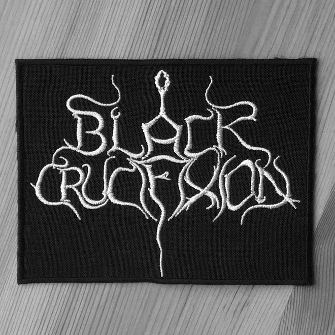 Black Crucifixion - Logo (Embroidered Patch)