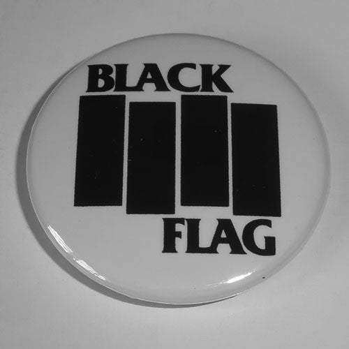 Black Flag - Black Logo (Badge)