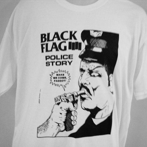 Black Flag - Police Story (T-Shirt)