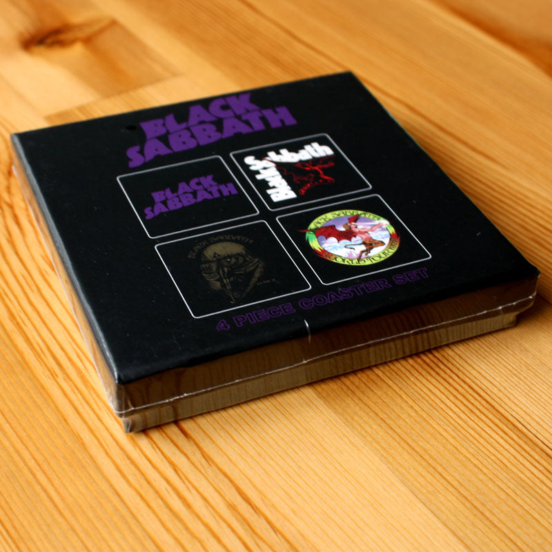 Black Sabbath - Classic Icons (Coaster Set)