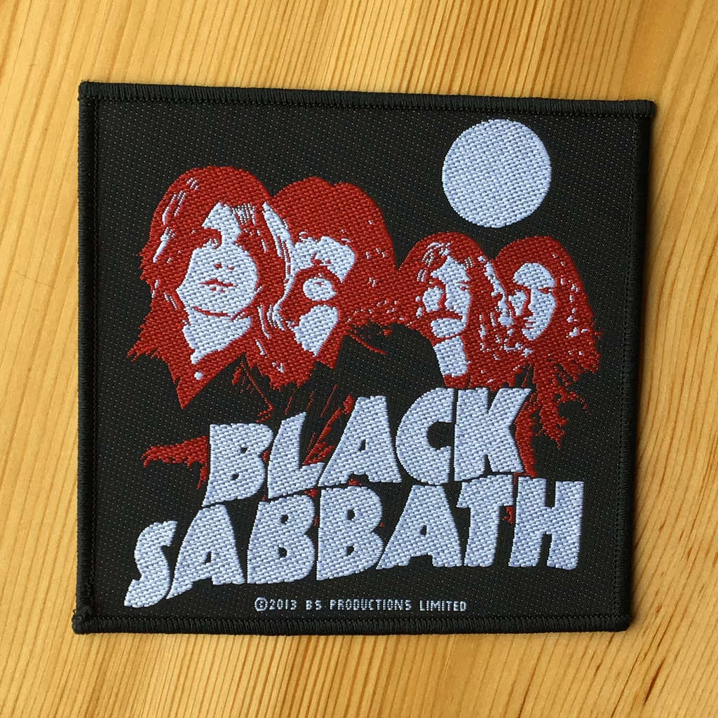 Black Sabbath - Logo & Band (Woven Patch)