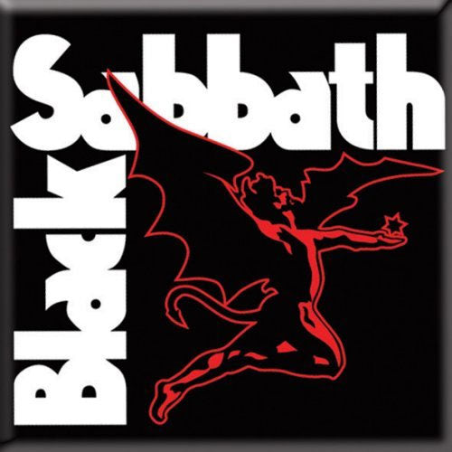 Black Sabbath - Logo & Red Henry (Magnet)