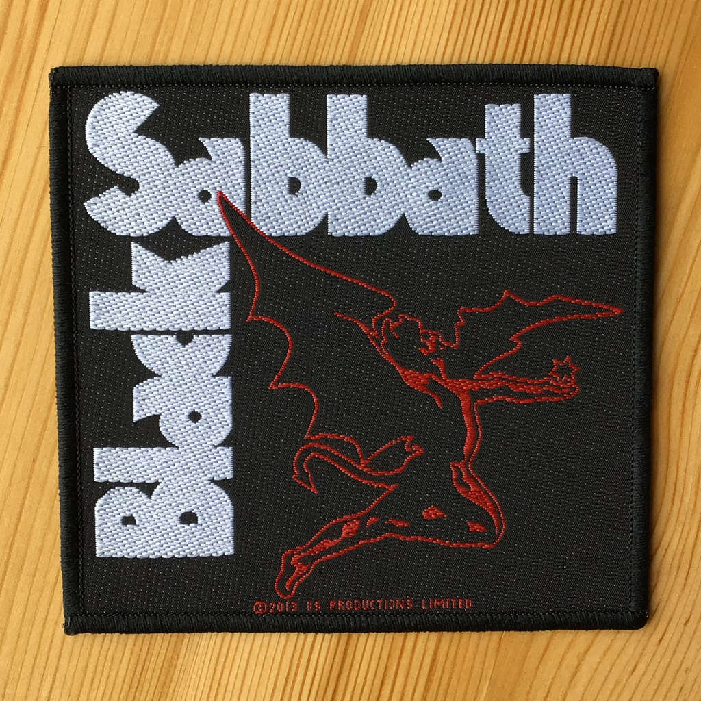 Black Sabbath - Logo & Red Henry (Woven Patch)