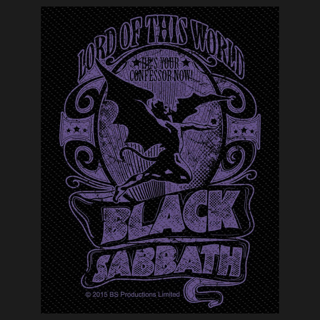 Black Sabbath - Lord of This World (Woven Patch)