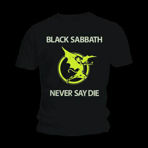 Black Sabbath - Never Say Die (T-Shirt)