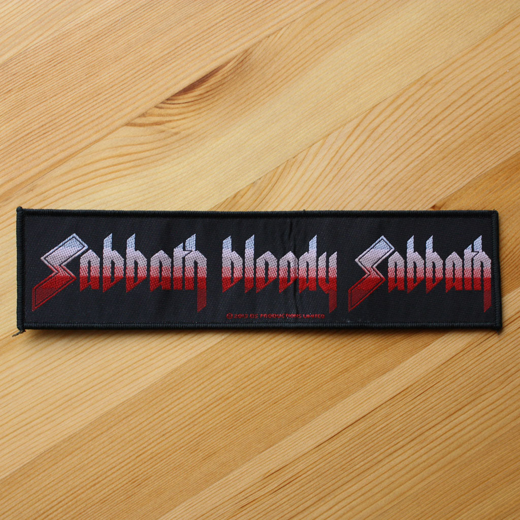 Black Sabbath - Sabbath Bloody Sabbath (Superstrip) (Woven Patch)