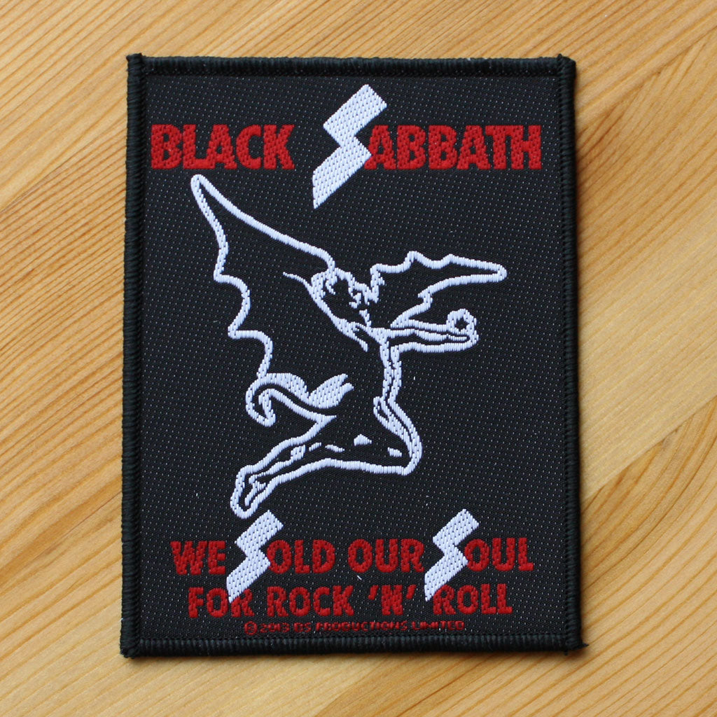 Black Sabbath - We Sold Our Soul for Rock 'n' Roll (Woven Patch)