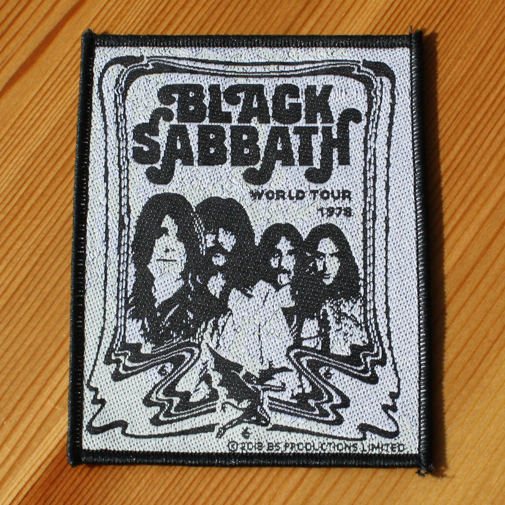 Black Sabbath - World Tour 1978 (Woven Patch)