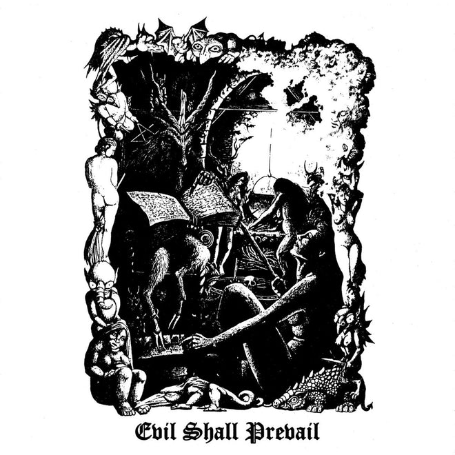 Black Witchery - Evil Shall Prevail (CD)