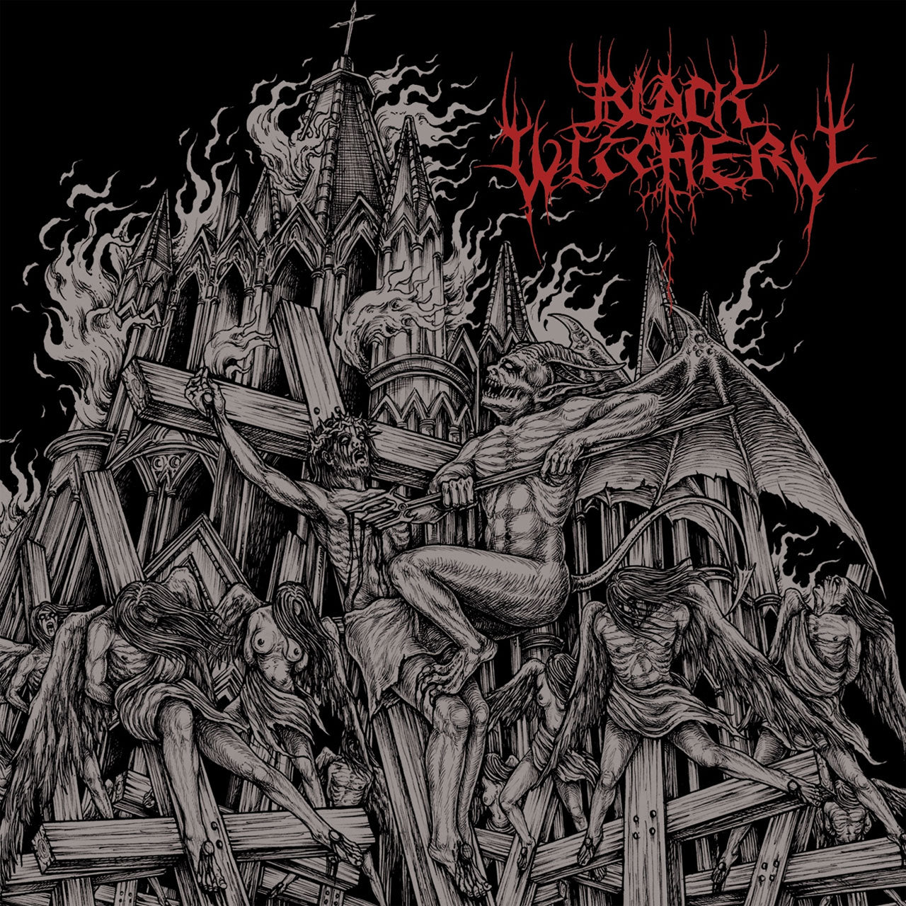 Black Witchery - Inferno of Sacred Destruction (CD)