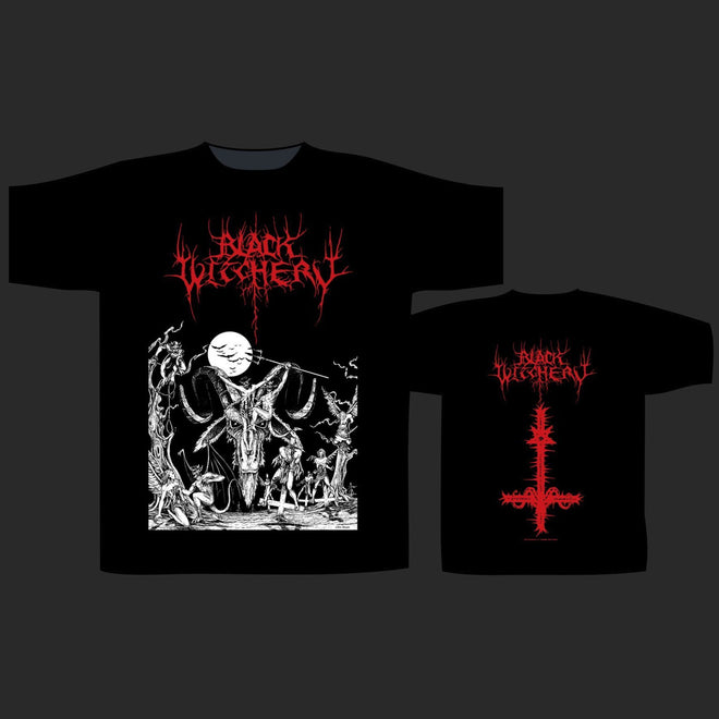 Black Witchery - Upheaval of Satanic Might (T-Shirt)