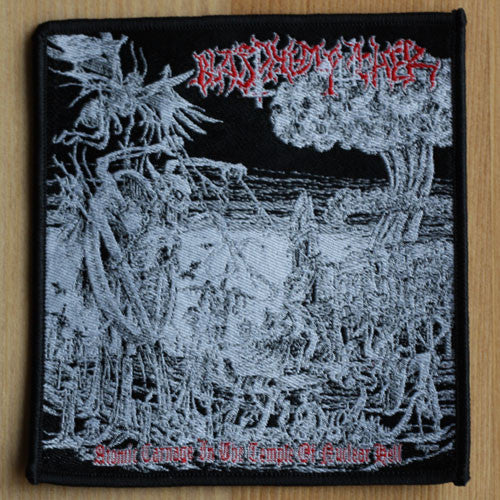 Blasphemophagher - Atomic Carnage in the Temple of Nuclear Hell (Woven Patch)
