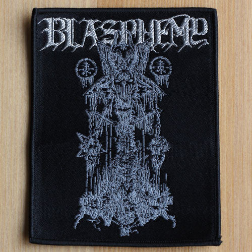 Blasphemy - Blood Upon the Altar (20th Anniversary) (Woven Patch)
