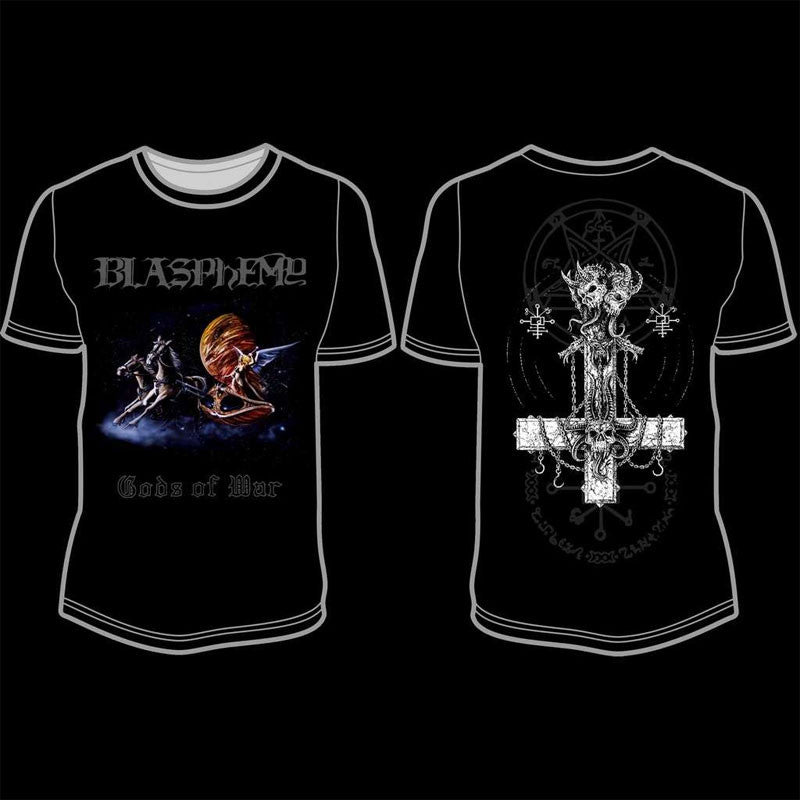 Blasphemy - Gods of War (Full Colour) (T-Shirt)
