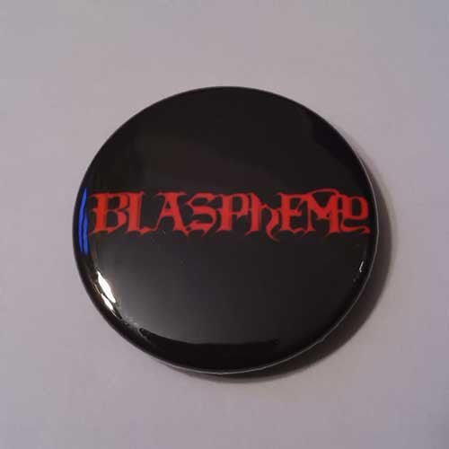 Blasphemy - Red Logo (Badge)