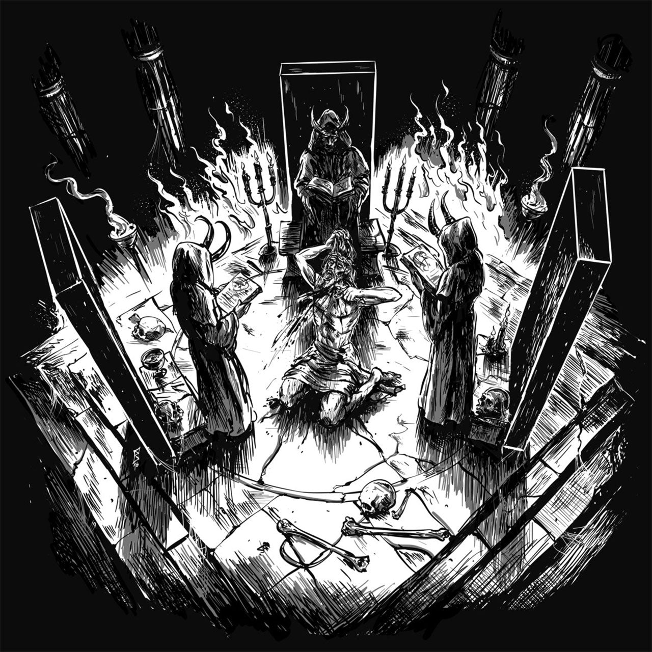 Blood Chalice - Sepulchral Chants of Self-Destruction (CD)