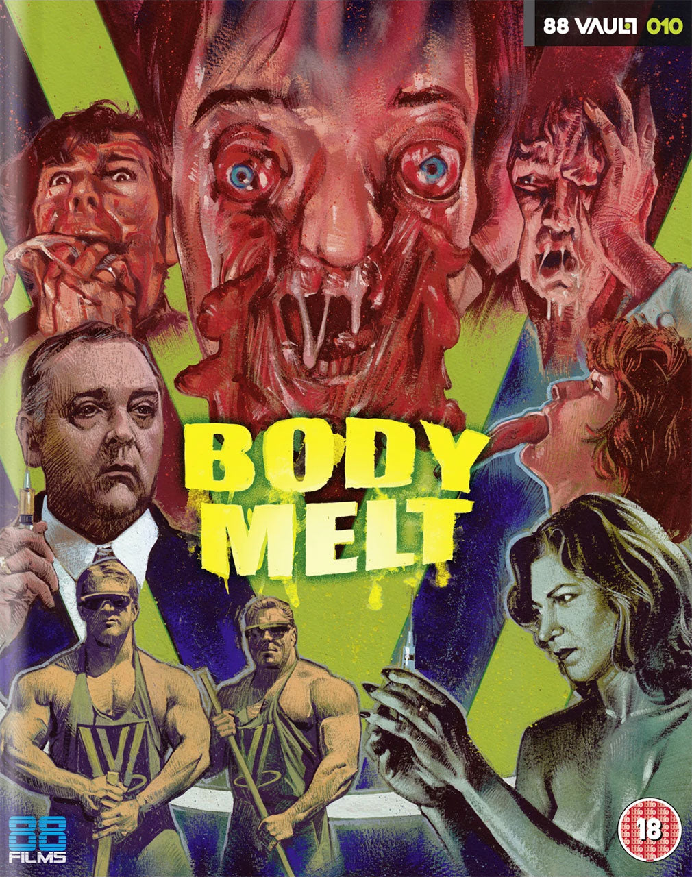 Body Melt (1993) (Blu-ray)