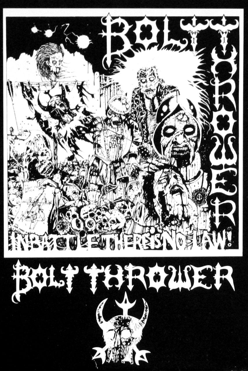 Bolt Thrower - In Battle There is No Law (Cassette)