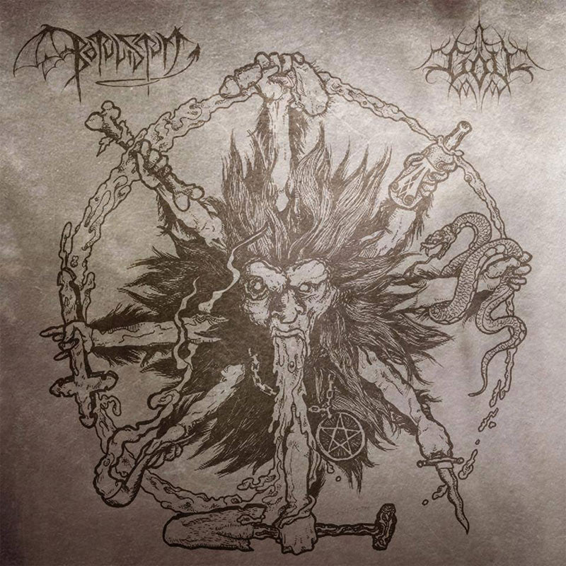 Botulistum / Goll - Split (CD)