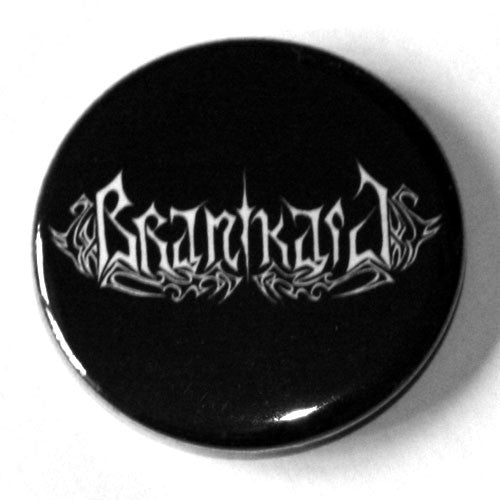 Branikald - White Logo (Badge)