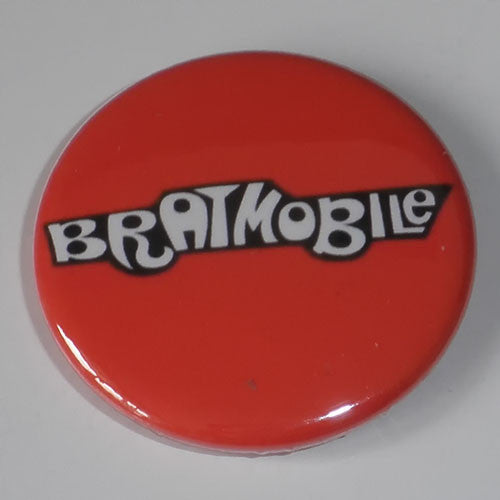 Bratmobile - Logo (Badge)