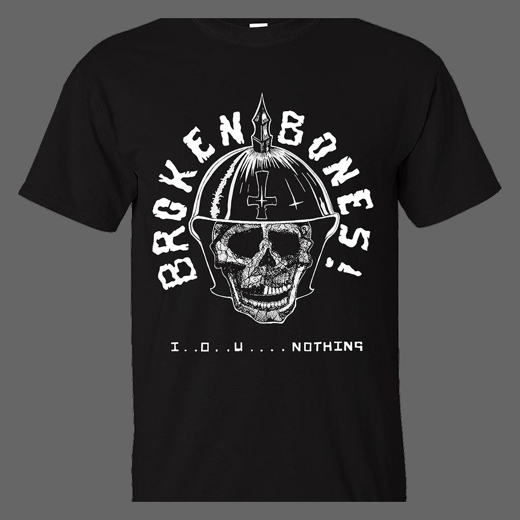 Broken Bones - IOU Nothing (T-Shirt)