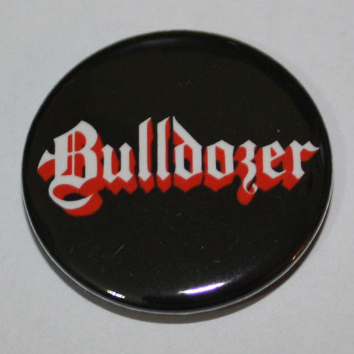 Bulldozer - White Logo (Badge)