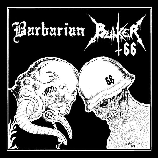 Bunker 66 / Barbarian - Split (LP)