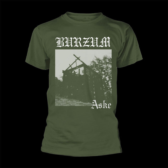 Burzum - Aske (Green) (T-Shirt)