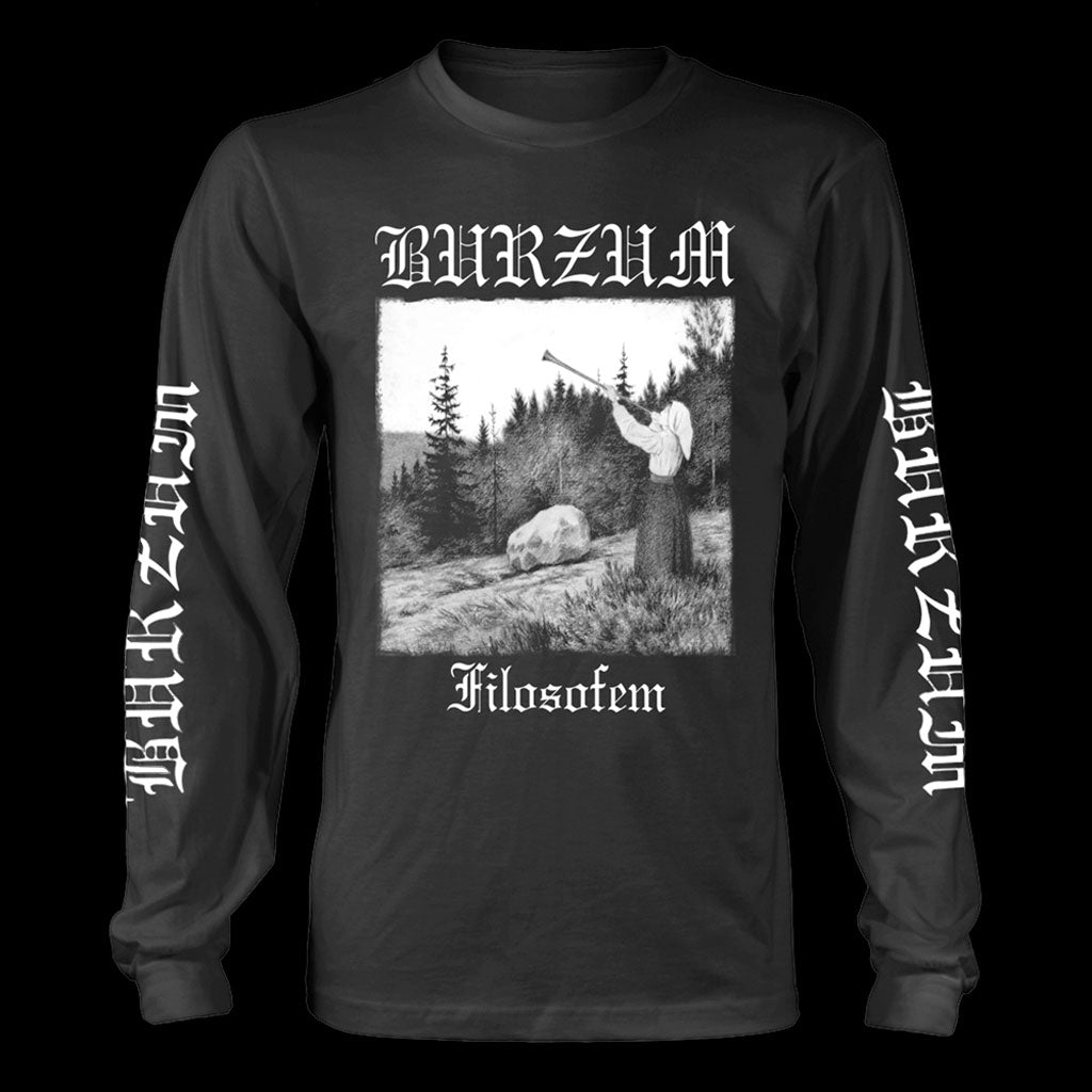 Burzum - Filosofem (Black) (Long Sleeve T-Shirt)