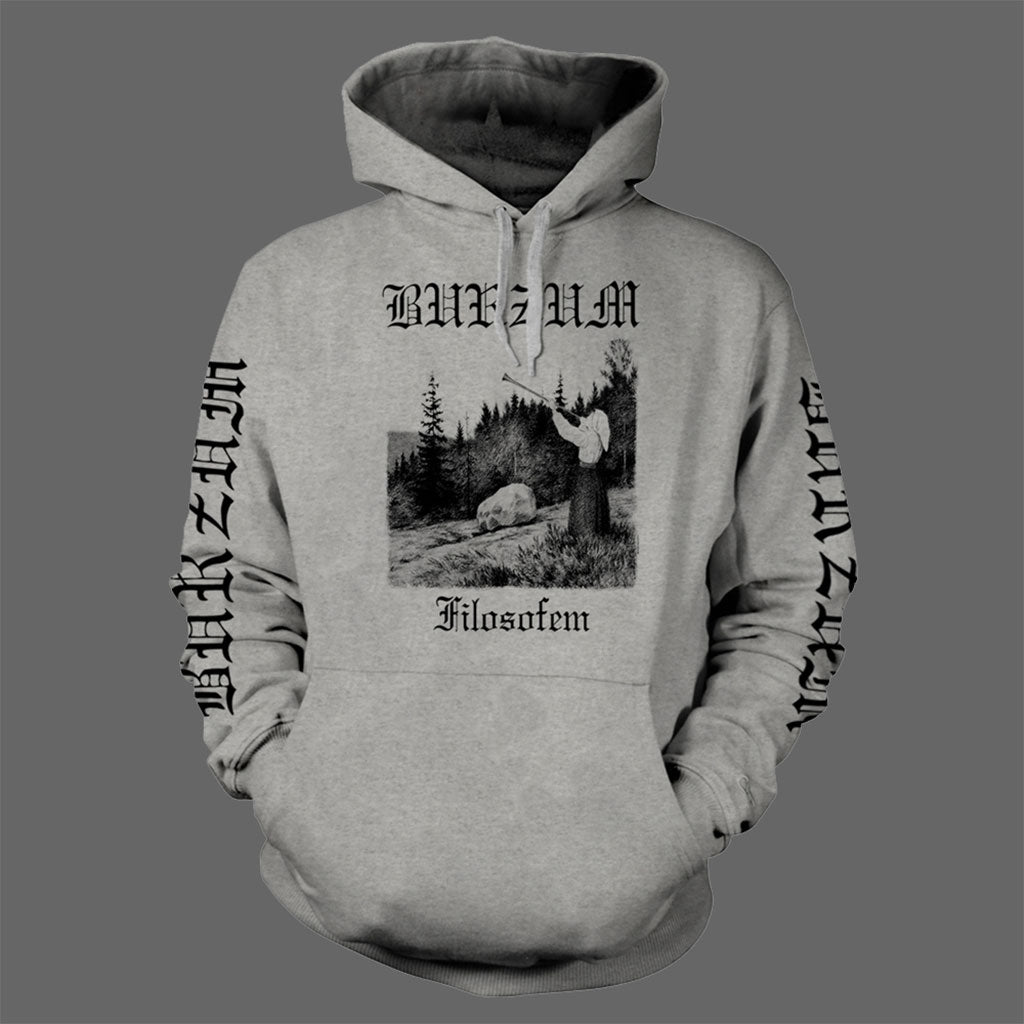 Burzum - Filosofem (Black on Grey) (Hoodie)