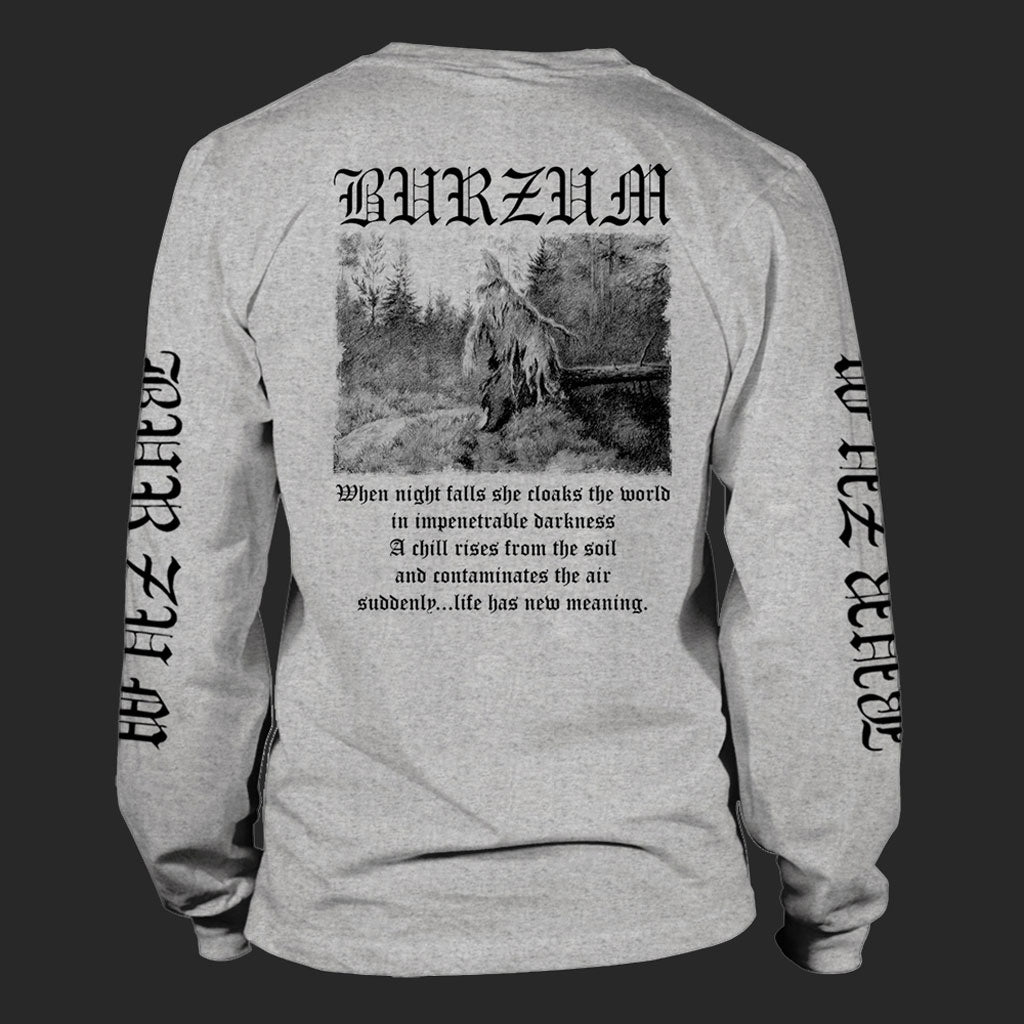 Burzum - Filosofem (Black on Grey) (Long Sleeve T-Shirt)